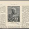 Generalleutnant v. Trotha, der neue Oberkommandierende in Deutsch=Südwestafrika. Nach einer Photographie von M. Bätz in Trier.