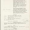 Script - Bound prompt book
