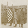 Color bearers of the 15th Infantry Regiment of the New York National Guard, which later became the 369th Infantry, 1918.
