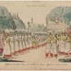 Schlussscene des dritten Actes aus dem Ballet 'Der Frauen-Aufruhr im Serail,' von Vestris