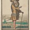 Homme en habit despée: Le Pautre delin. et sculp. cum privil. regis