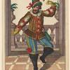 Masque en habit de paysan: C. Pr. S. C. Maj. M. Engelbr. sc. et excud. Aug[ustae] Vind[elicorum]