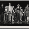 Brandon Maggart, John Gabriel, Arlene Dahl, Janice Lynde, and company during curtain call for the stage production Applause