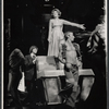 Arlene Dahl and dancers in the stage production Applause