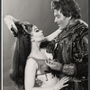 Carmen Alvarez and Hal Holbrook in the stage production The Apple Tree