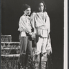 Kathleen Widdoes and Raul Julia in the New York Shakespeare Festival stage production As You Like It