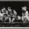 Unidentified cast members in the New York Shakespeare Festival stage production As You Like It