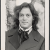 Publicity photo of Raul Julia in the New York Shakespeare Festival stage production As You Like It