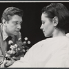 Brian Murray and Roberta Maxwell in the stage production Ashes