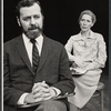 John Tillinger and Penelope Allen in the stage production Ashes