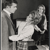 Robert Reed, Betsy von Furstenberg, and Jennifer Hilary in rehearsal for the stage production Avanti!