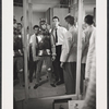 Robert Goulet in costume fitting for the stage production Camelot