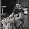 William Squire in the stage production Camelot