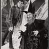 William Squire and Louis Turenne in the stage production Camelot