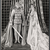 William Squire and Patricia Bredin in the stage production Camelot