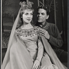 Patricia Bredin and William Squire in the stage production Camelot