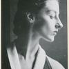Portrait photograph of Tanaquil Le Clercq