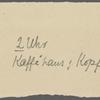 Stefan George letters to Ernst Morwitz, 1906