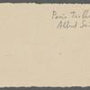 Stefan George letters to Ernst Morwitz, 1908