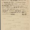 Stefan George letters to Ernst Morwitz, 1910