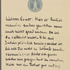 Stefan George letters to Ernst Morwitz, 1911