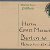 Stefan George letters to Ernst Morwitz, 1912