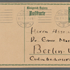 Stefan George letters to Ernst Morwitz, 1915