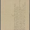 Stefan George letters to Ernst Morwitz, 1917