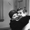 Valentina Pereyaslavec and Rudolf Nureyev during Ruth Page's 1st American performance at Brooklyn Academy of Music.
