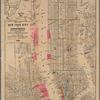 Map of New York City and surroundings : illustrating & accompanying a report on the terminal facilities for handling freight of the railroads entering the port of New York / by Gratz Mordecai, C.E.