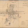 Sketch showing the ground under carriageway at intersection of Wall, Broad, and Nassau Streets : as occupied by water, gas, steam, pneumatic, cable and electric pipes, sewers, basins, culverts and vaults to houses, etc., February 1885