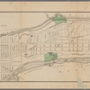 Guide map to 92 acres of land at Washington Heights in the 12th ward of the City of New York to be sold by the executors of Isaac Dyckman Dec'd, on the 1st day of June 1870 at the Exchange salesroom, no. 111 Broadway : showing its situation with reference to all that part of the City of New York north of the Central Park, and also showing the new Streets and Avenues established by the Commissioners of the Central Park.