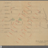 """Old New York, """"The Bouwery"""": from the map presented to the N.Y. Historical Society"""