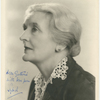 Publicity photograph of Sybil Thorndike autographed to Guthrie McClintic.