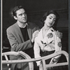 Ed Kenny and Monica Boyar rehearse the stage production 13 Daughters