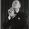 John Gielgud in the stage production Ages of Man