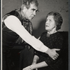 Donald Wolfit and Marjorie Rhodes in the stage production All in Good Time