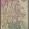 Goulding's directory map of New York City : including the two recently annexed wards, engraved from the latest and most accurate surveys