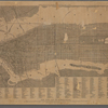 New York and its surroundings : map of the metropolis from the Battery to One Hundred and Eighth Street, and parts of Brooklyn, Williamsburg, Greenpoint, Jersey City, and Hoboken