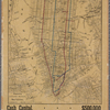 Map showing the lines of the elevated railroads on Manhattan Island / prepared by Gaylord Watson.