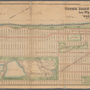 """Map of the upper part of the City of New York, from Fifty Seventh Street to Kings-Bridge : showing the """"West Side Improvements,"""" with dimensions, elevations of grade and distances complete / Compiled and drawn under the direction of Hamilton E. Towle, Civil Engineer and City Surveyor, 78 Cedar St., New York."""