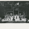 Scene from the stage musical production Two Gentlemen of Verona