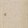 [Foote], Mary W[ilder] White, ALS to. Jan. 30, 1834.