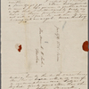 Foote, Mary W[ilder White], ALS to. [Jan. 27, 1836] (incomplete).