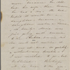 Foote, Mary W[ilder White], ALS to. [1836?].