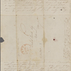 """Foote, Mary [Wilder White], ALS to. Apr. 1842. [postmark """"Apr. 22""""]."""
