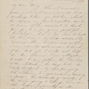[Foote], Mary [Wilder White], ALS to. Dec. 7, 1854.