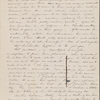 [Haven, Lydia G. S.], ALS  to. [late Apr./May, 1833]. Previously: [183-?].