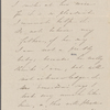 Hawthorne, Elizabeth, ALS to. Apr. 1844, in person of Una to her grandmother.