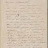 """Hawthorne, Elizabeth M., ALS to. [n.d.] (""""I am thankful..."""")"""